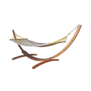 Medium prime garden cotton hammock