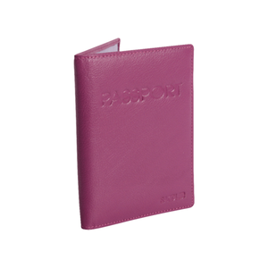 Medium saddler magenta passport cover