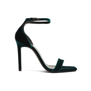 Medium saint laurent amber velvet sandals