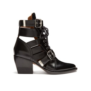 Medium chloe rylee leather ankle boots