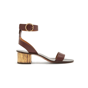 Medium chloe qassie block heeled sandals
