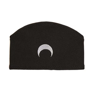 Medium marine serre moon intarsia headband