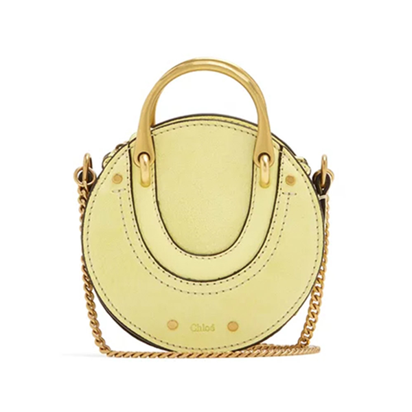 feb251f20f CHLOÉ - Pixie mini leather and suede cross-body bag - Semaine
