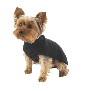 Medium canine style cashmere sweater