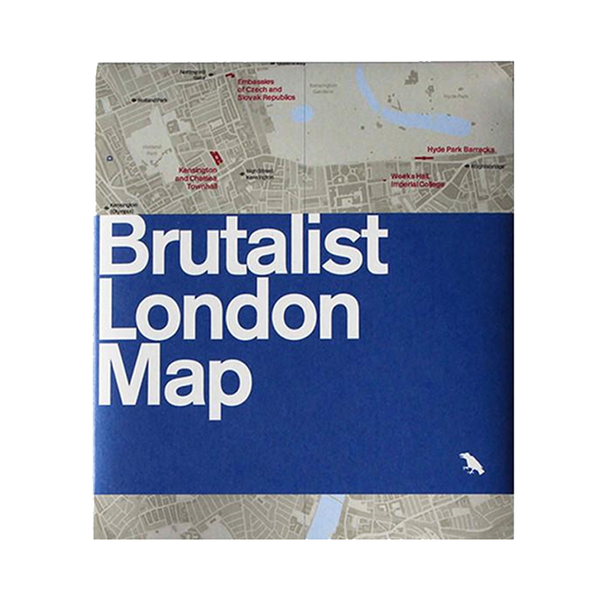 Large brutalist london map   brutalist london map   brutalist london map