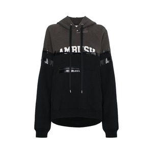 Medium ambush taped logo hooded sweatshirt