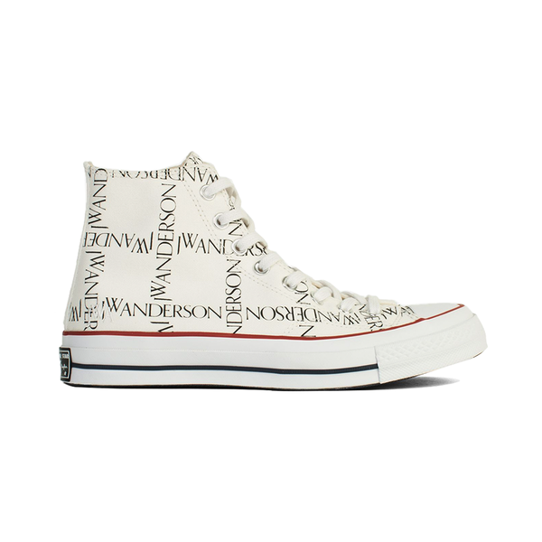 CONVERSE X JW ANDERSON - X JW Anderson logo-print high-top trainers ... 0d17f9065
