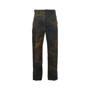 Medium heron preston camouflage cargo trousers