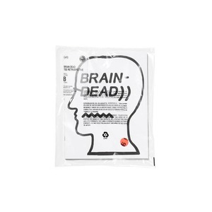 Medium brain dead tee shirt retrospective book