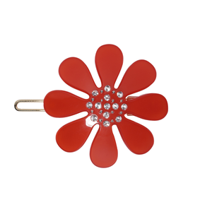 Medium kanel hair clip nr. 10 red