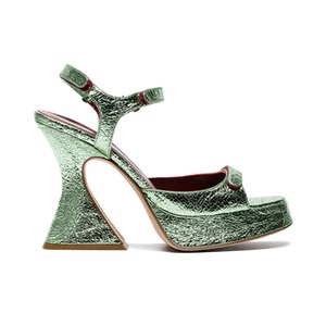 Medium sies marjan green sandles
