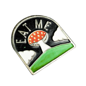Medium eat me pin