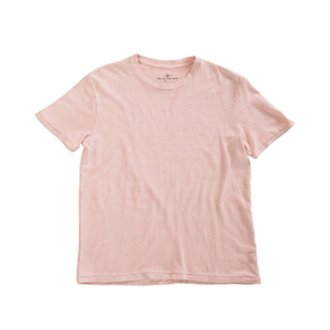 Medium gambel organic hemp tee in hibiscus