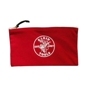Medium labour and wait canvas zipper bag red 66dd9a03 b538 4a7b 8801 fa4c81f78a34 grande