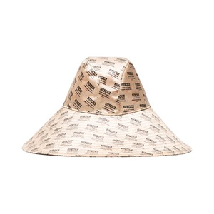 Medium gucci invite print silk hat