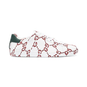 Medium gucciwhite gg logo ace sneakers