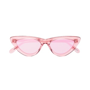 Medium pink guava 006 cat eye sunglasses