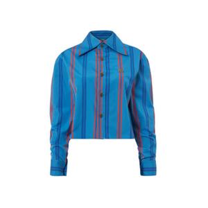 Medium vivienne westwood cropped pianist shirt blue