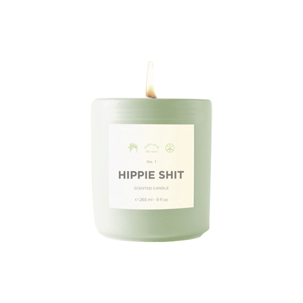 Large mister green candle