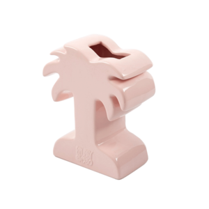Medium stussy palm ceramic vase   pink