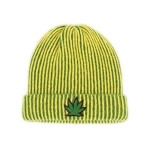 Medium tes pot leaf striped watchman cap