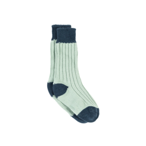 Medium pot two tone sock