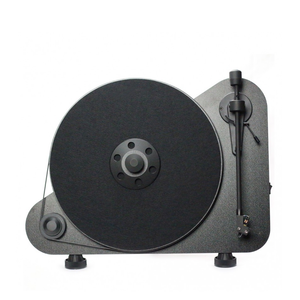 Medium vt e bt vertical turntable black