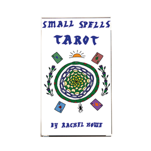 Medium small spells color tarot deck