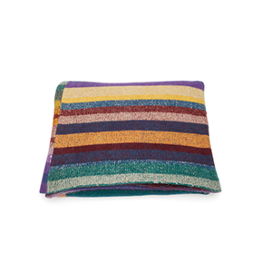 Medium patterned cashmere blanket tes