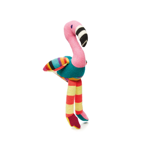 Medium tesflamingo cashmere toy