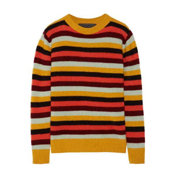 92137231e32 The Elder Statesman - Picras striped cashmere sweater - Semaine