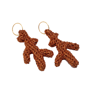Medium coral sea earrings