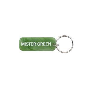 Medium keychain green a