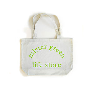 Medium mister green mr green  0008 life store tote beige