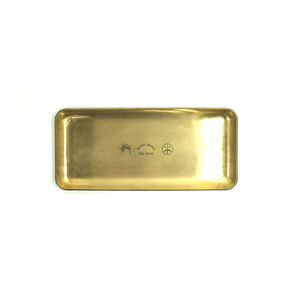 Medium mistergreen brass tray