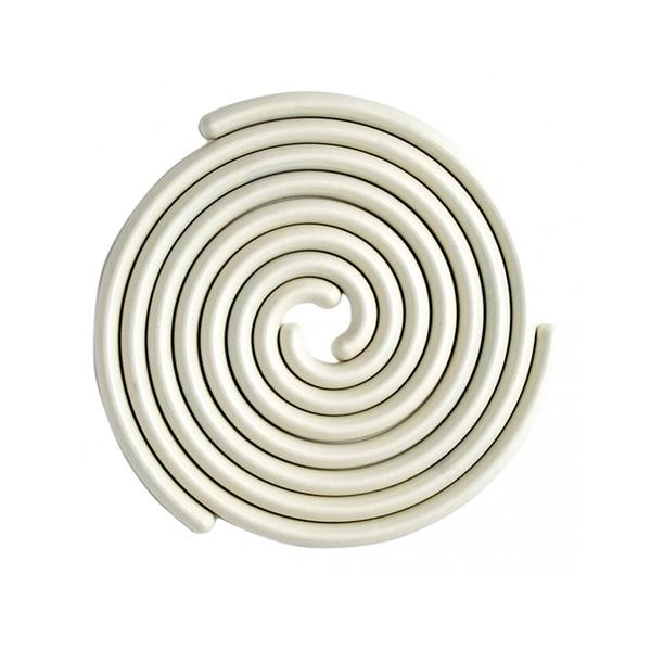 Large good thing spiral trivet set white