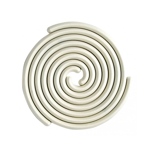 Medium good thing spiral trivet set white
