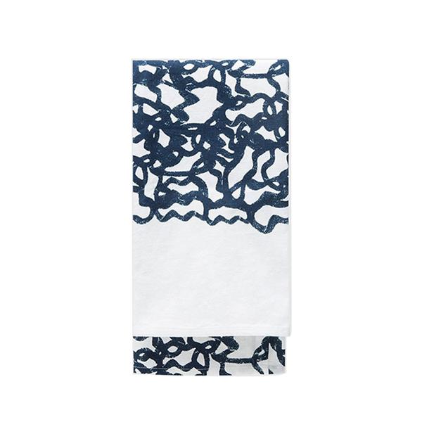 Large need supply printed tea towel   poo