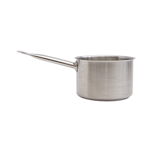 Medium need supply hay deep saucepan in stainless steel
