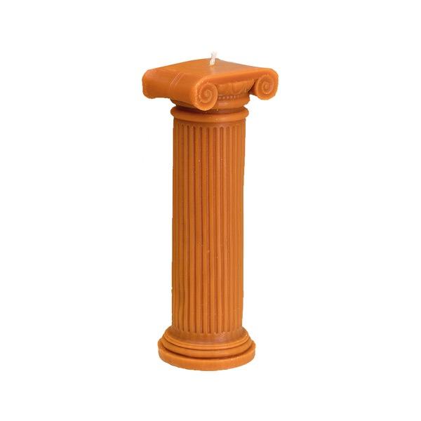 Hestia Column Candle L Blue Semaine