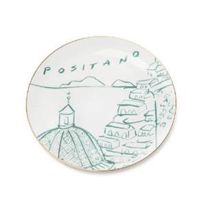 Medium emporium sirenuse luke s positano view dessert plate green