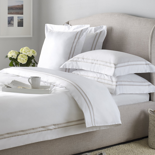 The White Company - Charlton bed linen collection - Semaine