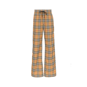 Medium burberryvintage check drawcord trousers