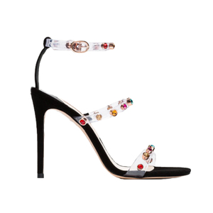 Medium rosalind 100 gem pvc sandals