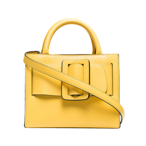 Medium boyy yellow bobby 23 leather tote bag