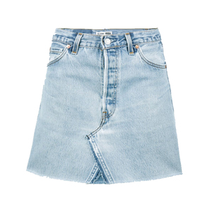 Medium levi s high waisted denim mini skirt