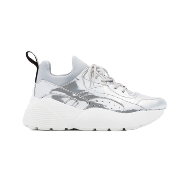new styles cheap price Stella McCartney Black & Silver Eclypse Sneakers newest cheap online Inexpensive for sale classic sale free shipping MrChd