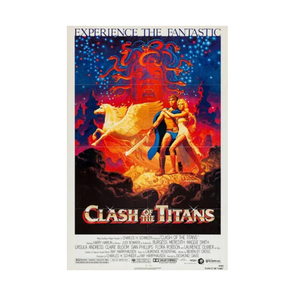 Medium clash of the titans reproduction poster