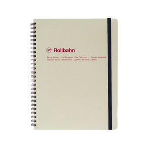 Medium delphonics rollbahn spiral notebook xlg