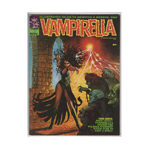 Medium vampirella  2   warren publishing 1969   fn ebay